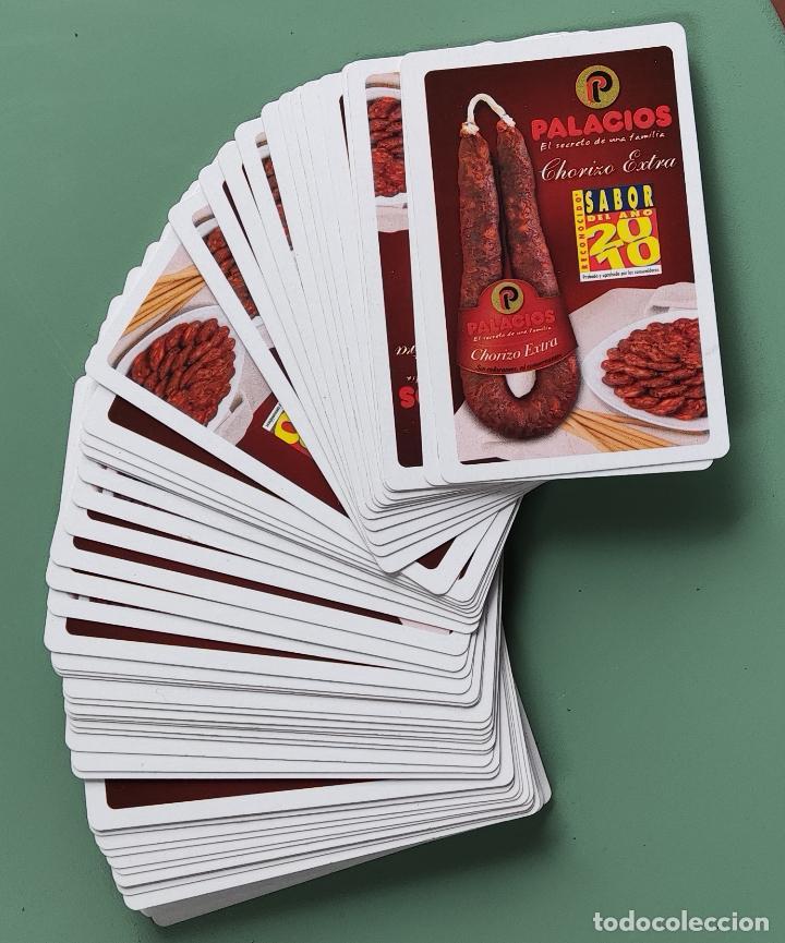 Barajas de cartas: BARAJA DE CARTAS PALACIOS. CHORIZO EXTRA. CARNE DE CERDO. SABOR 2010 - Foto 4 - 287704938