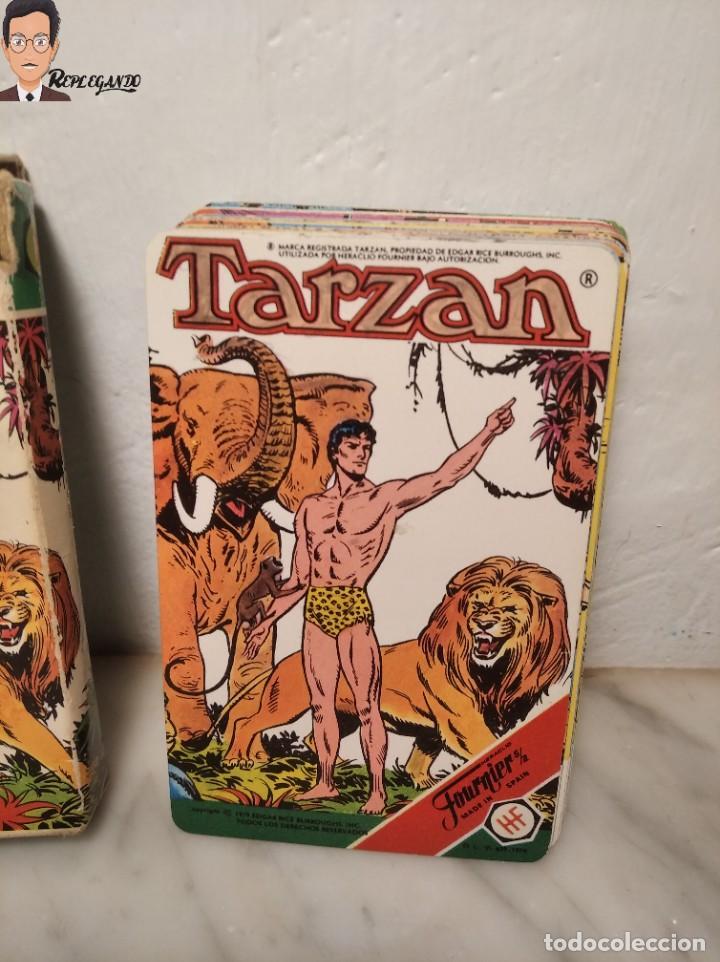 BARAJA INFANTIL - HERACLIO FOURNIER - TARZAN - 32 CARTAS - AÑO 1979 - COMPLETA (Juguetes y Juegos - Cartas y Naipes - Barajas Infantiles)