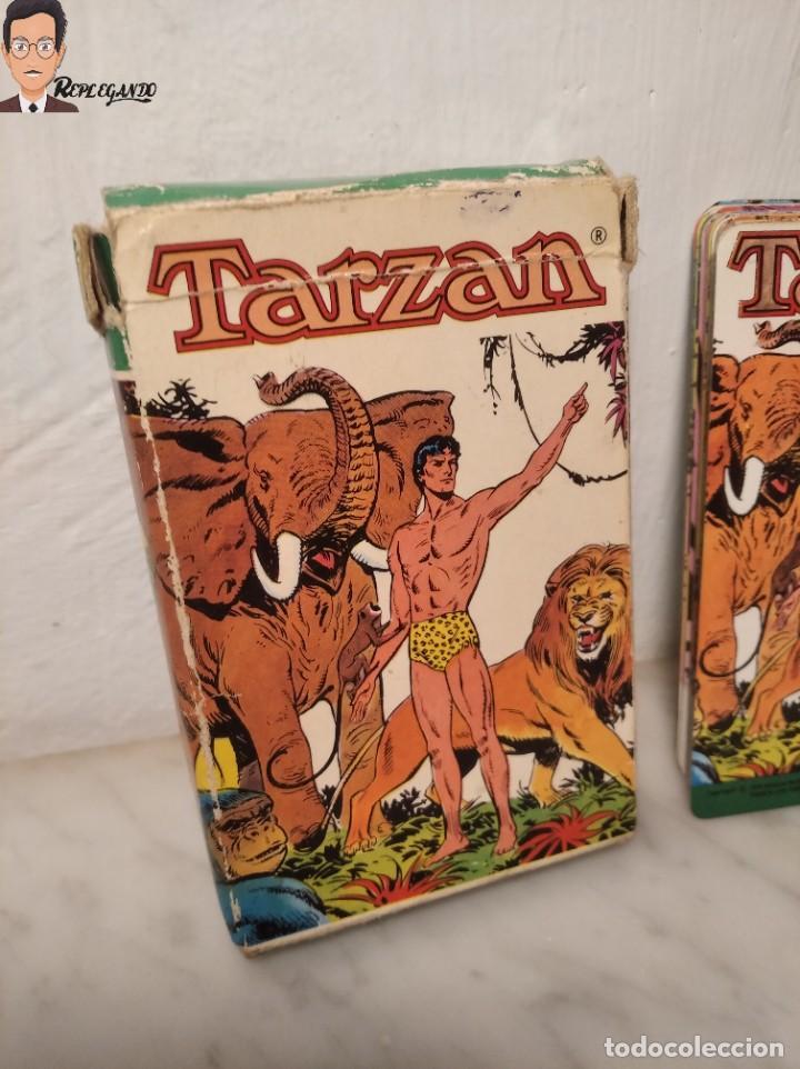 Barajas de cartas: BARAJA INFANTIL - HERACLIO FOURNIER - TARZAN - 32 CARTAS - AÑO 1979 - COMPLETA - Foto 2 - 287884268