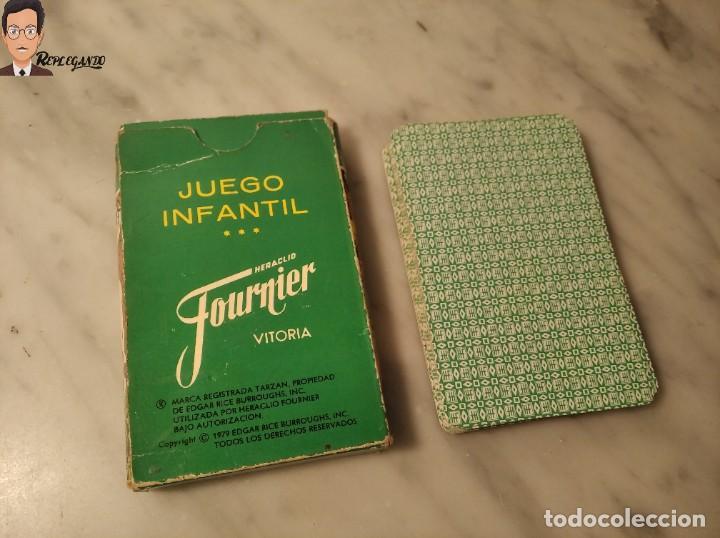 Barajas de cartas: BARAJA INFANTIL - HERACLIO FOURNIER - TARZAN - 32 CARTAS - AÑO 1979 - COMPLETA - Foto 3 - 287884268