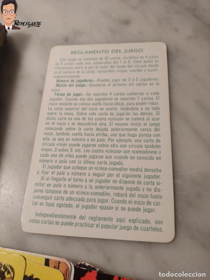 Barajas de cartas: BARAJA INFANTIL - HERACLIO FOURNIER - TARZAN - 32 CARTAS - AÑO 1979 - COMPLETA - Foto 5 - 287884268