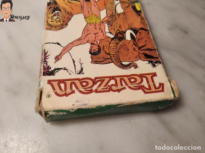 Barajas de cartas: BARAJA INFANTIL - HERACLIO FOURNIER - TARZAN - 32 CARTAS - AÑO 1979 - COMPLETA - Foto 9 - 287884268