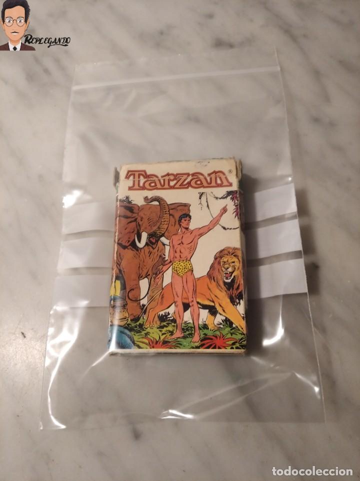 Barajas de cartas: BARAJA INFANTIL - HERACLIO FOURNIER - TARZAN - 32 CARTAS - AÑO 1979 - COMPLETA - Foto 11 - 287884268