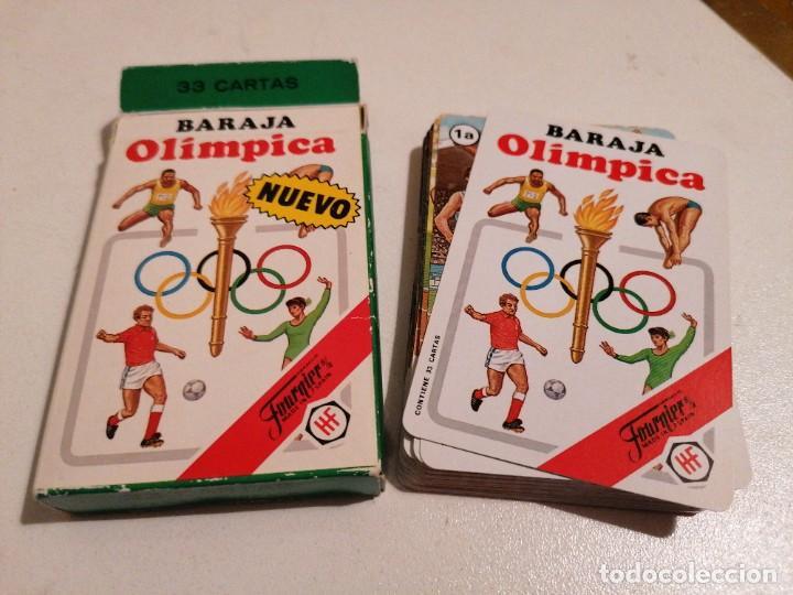 BARAJA FOURNIER OLÍMPICA 1988 (Juguetes y Juegos - Cartas y Naipes - Barajas Infantiles)