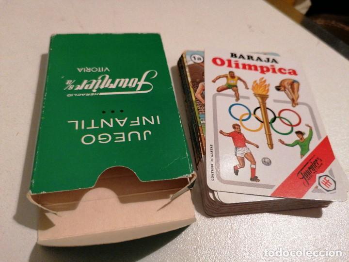 Barajas de cartas: BARAJA FOURNIER OLÍMPICA 1988 - Foto 2 - 287944633