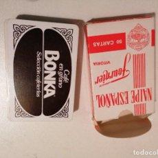 Barajas de cartas: BARAJA FOURNIER CAFE BONKA. Lote 287945013
