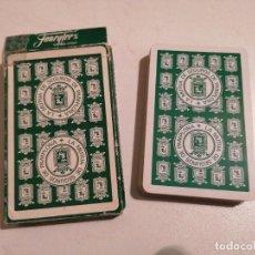 Barajas de cartas: BARAJA FOURNIER LA MUTUA DE SEGUROS DE PAMPLONA. Lote 287945578