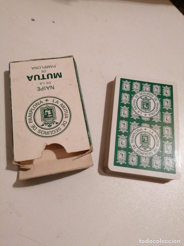 Barajas de cartas: BARAJA FOURNIER LA MUTUA DE SEGUROS DE PAMPLONA - Foto 2 - 287945578