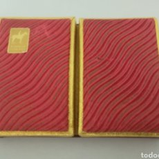 Barajas de cartas: PIATNIK BARAJA DOBLE DE POKER. Lote 287958068