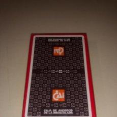 Barajas de cartas: BARAJA FOURNIER CON PUBLICIDAD CAJA DE AHORROS CAI PRECINTADA. Lote 287960168