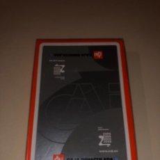 Barajas de cartas: BARAJA FOURNIER CON PUBLICIDAD CAJA DE AHORROS CAI PRECINTADA EXPO 2008. Lote 287960203
