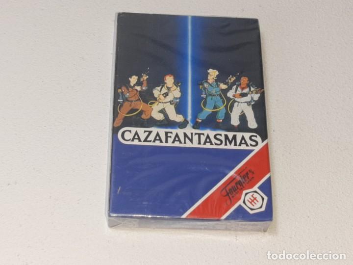 FOURNIER : ANTIGUA BARAJA INFANTIL THE REAL GHOSTBUSTERS - LOS CAZAFANTASMAS - PRECINTADA AÑO 1992 (Juguetes y Juegos - Cartas y Naipes - Barajas Infantiles)