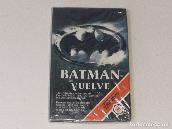 FOURNIER : ANTIGUA BARAJA INFANTIL BATMAN RETURNS - BATMAN VUELVE - PRECINTADA AÑO 1992 (Juguetes y Juegos - Cartas y Naipes - Barajas Infantiles)