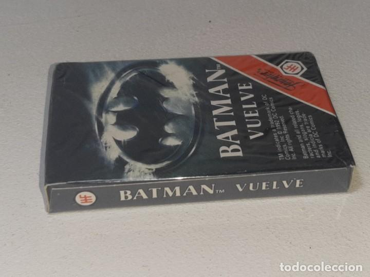 Barajas de cartas: FOURNIER : ANTIGUA BARAJA INFANTIL BATMAN RETURNS - BATMAN VUELVE - PRECINTADA AÑO 1992 - Foto 4 - 287970713