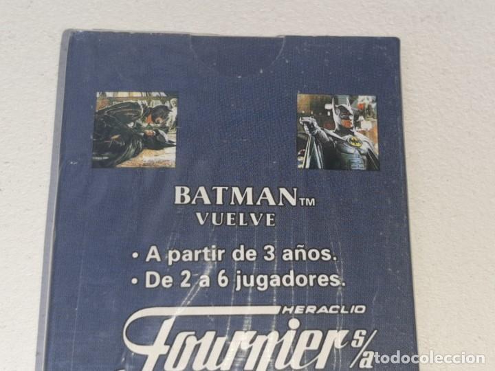 Barajas de cartas: FOURNIER : ANTIGUA BARAJA INFANTIL BATMAN RETURNS - BATMAN VUELVE - PRECINTADA AÑO 1992 - Foto 10 - 287970713