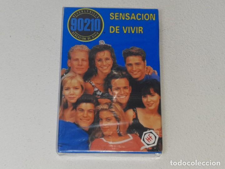 FOURNIER : ANTIGUA BARAJA INFANTIL SERIE TV - SENSACION DE VIVIR 90210 - PRECINTADA AÑO 1992 (Juguetes y Juegos - Cartas y Naipes - Barajas Infantiles)