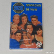 Barajas de cartas: FOURNIER : ANTIGUA BARAJA INFANTIL SERIE TV - SENSACION DE VIVIR 90210 - PRECINTADA AÑO 1992. Lote 287970753
