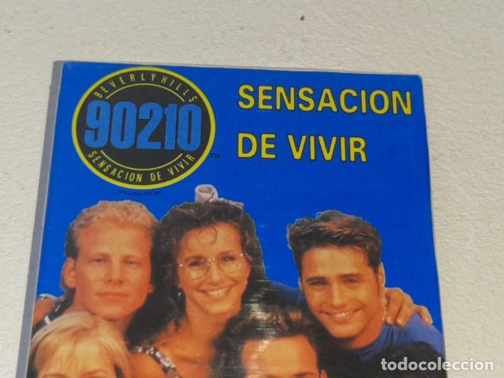 Barajas de cartas: FOURNIER : ANTIGUA BARAJA INFANTIL SERIE TV - SENSACION DE VIVIR 90210 - PRECINTADA AÑO 1992 - Foto 3 - 287970753