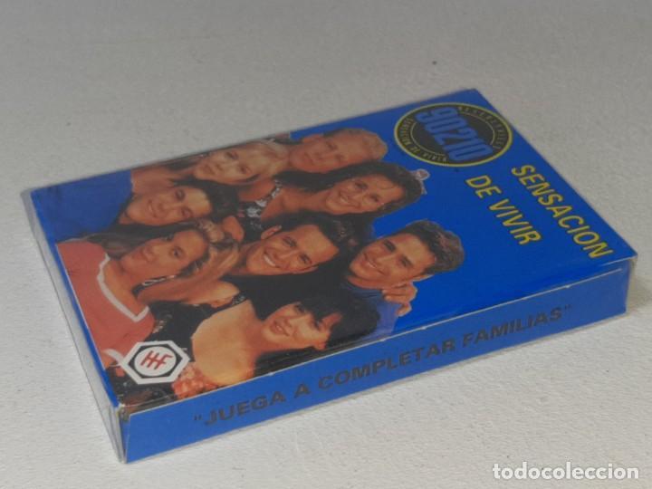 Barajas de cartas: FOURNIER : ANTIGUA BARAJA INFANTIL SERIE TV - SENSACION DE VIVIR 90210 - PRECINTADA AÑO 1992 - Foto 4 - 287970753