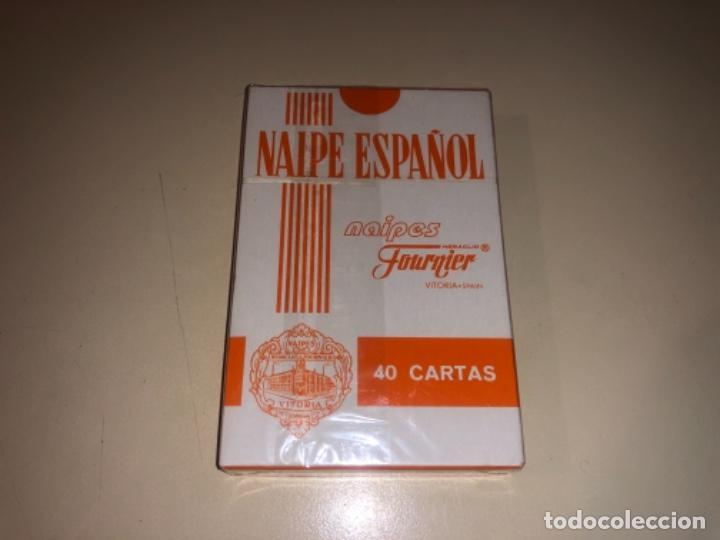 Barajas de cartas: Baraja Fournier con publicidad caja de ahorros CAI precintada - Foto 2 - 287960183