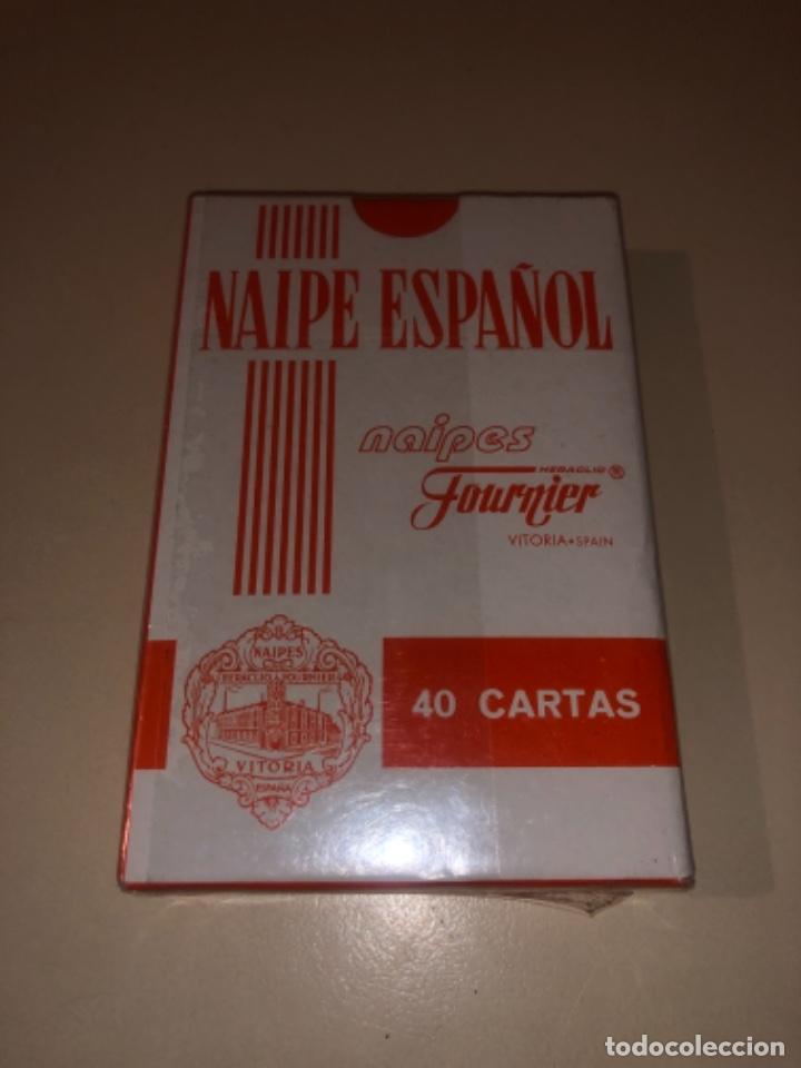 Barajas de cartas: Baraja Fournier con publicidad caja de ahorros CAI precintada EXPO 2008 - Foto 2 - 287960203