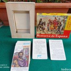 Barajas de cartas: BARAJA JUEGO DE FAMILIAS HISTORIA DE ESPAÑA H.FOURNIER 1964. Lote 287989533