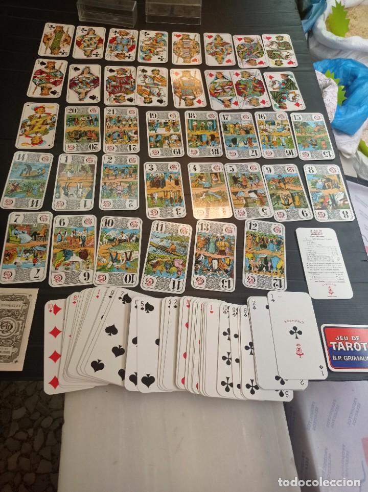 ANTIGUA BARAJA DE TAROT B.P. GRIMAU 78 CARTAS + INSTRUCCIONES (Juguetes y Juegos - Cartas y Naipes - Barajas Tarot)