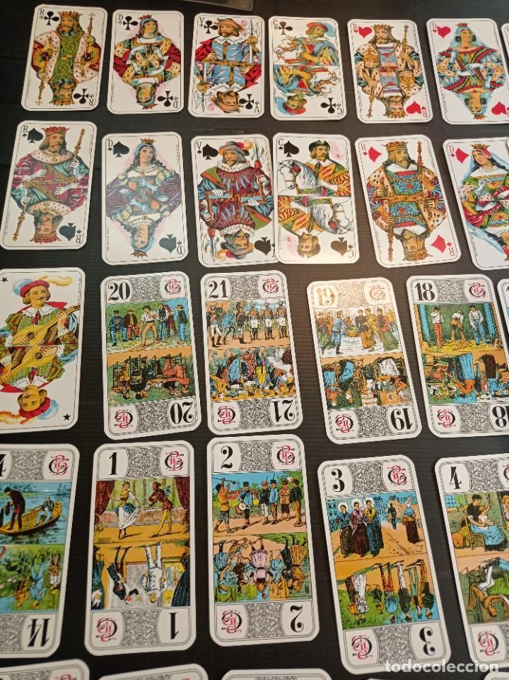 Barajas de cartas: Antigua baraja de Tarot B.P. Grimau 78 cartas + instrucciones - Foto 2 - 288148643