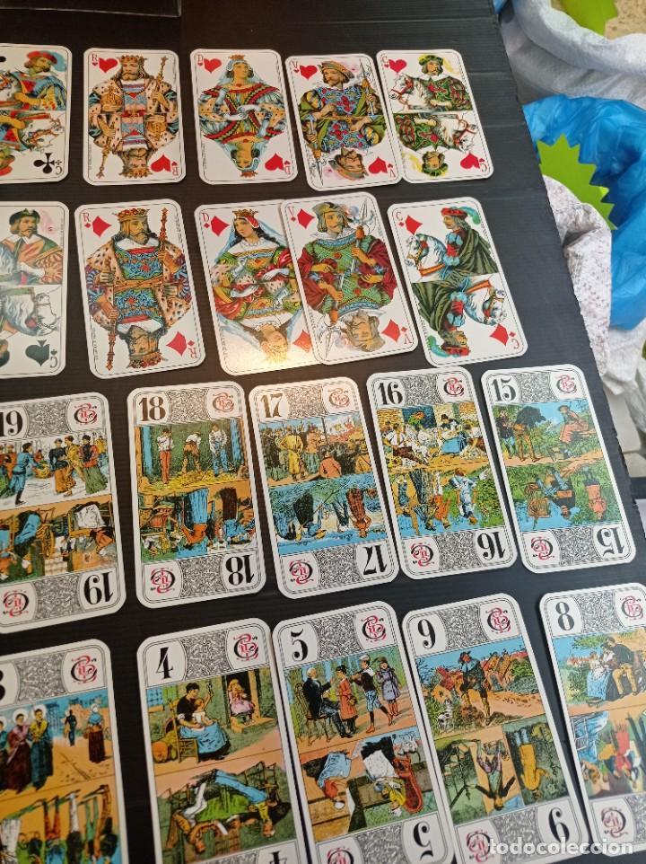 Barajas de cartas: Antigua baraja de Tarot B.P. Grimau 78 cartas + instrucciones - Foto 3 - 288148643