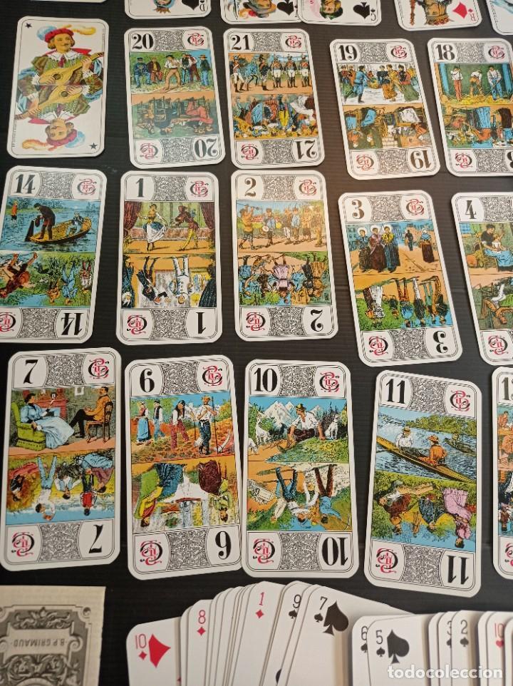 Barajas de cartas: Antigua baraja de Tarot B.P. Grimau 78 cartas + instrucciones - Foto 4 - 288148643
