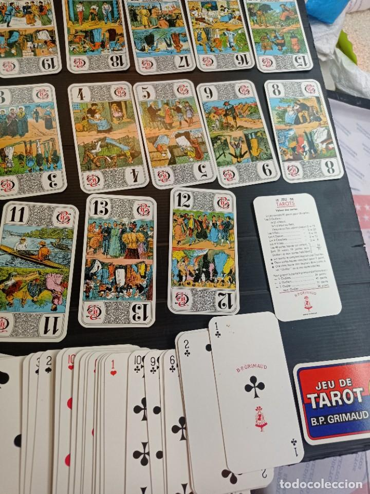 Barajas de cartas: Antigua baraja de Tarot B.P. Grimau 78 cartas + instrucciones - Foto 5 - 288148643