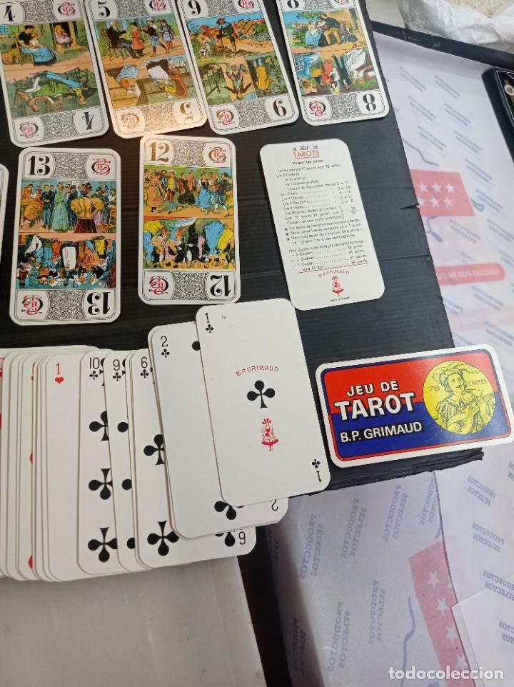 Barajas de cartas: Antigua baraja de Tarot B.P. Grimau 78 cartas + instrucciones - Foto 6 - 288148643