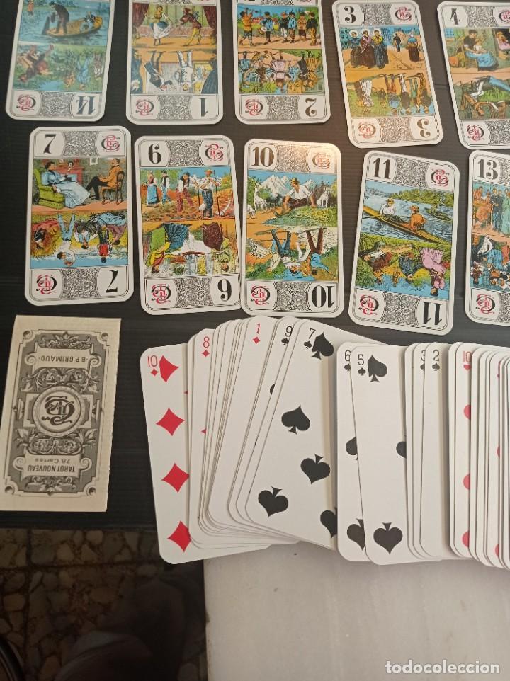 Barajas de cartas: Antigua baraja de Tarot B.P. Grimau 78 cartas + instrucciones - Foto 7 - 288148643