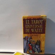 Barajas de cartas: EL TAROT UNIVERSAL DE WAITE/ EDITH WAITE/ SIRIO. Lote 288155153