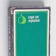 Barajas de cartas: BARAJA ESPAÑOLA DE CAJA MADRID. Lote 288159443