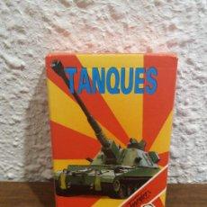 Barajas de cartas: JUEGO DE CARTAS TANQUES. Lote 288298603