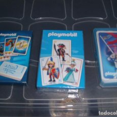 Barajas de cartas: LOTE PLAYMOBIL. Lote 288354308