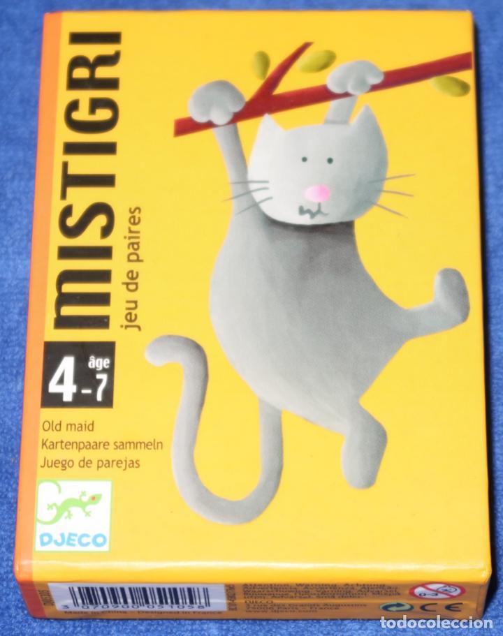MISTIGRI - DJECO (Juguetes y Juegos - Cartas y Naipes - Barajas Infantiles)