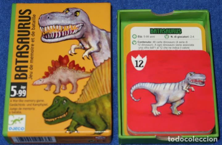 Barajas de cartas: Batasaurus - Djeco - Foto 2 - 288357463