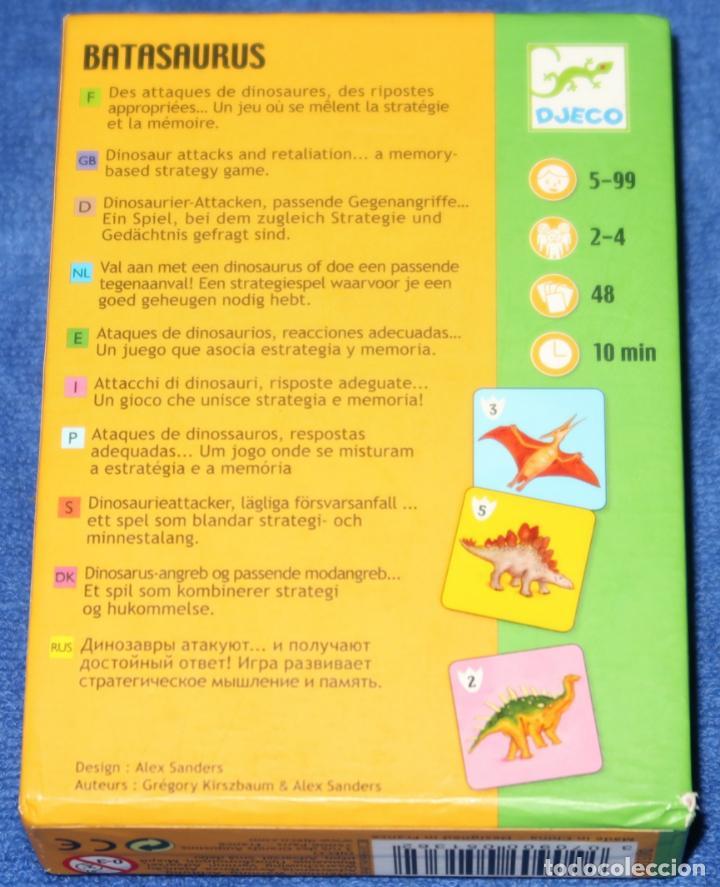 Barajas de cartas: Batasaurus - Djeco - Foto 3 - 288357463