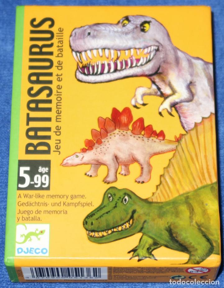 BATASAURUS - DJECO (Juguetes y Juegos - Cartas y Naipes - Barajas Infantiles)