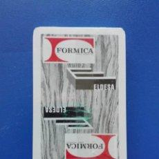 Barajas de cartas: BARAJA DE CARTAS HERACLIO FOURNIER - PUBLICIDAD FORMICA - ELDESA (PRECINTADA). Lote 288375883