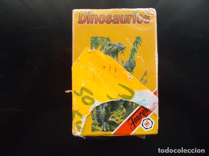 Barajas de cartas: baraja catetos fournier dinosaurios saurio vitoria alava juguete egb española carta naipe españa - Foto 3 - 288429673