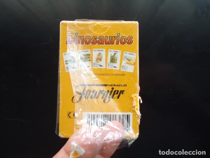 Barajas de cartas: baraja catetos fournier dinosaurios saurio vitoria alava juguete egb española carta naipe españa - Foto 4 - 288429673