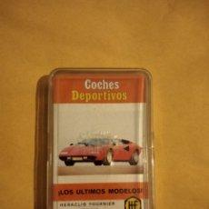 Barajas de cartas: ANTIGUA BARAJA COCHES DEPORTIVOS FOURNIER 1976. Lote 288724343