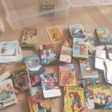 Barajas de cartas: LOTE. CAJÓN DESASTRE DE BARAJAS INFANTILES DE LOS AÑOS 80. HERACLIO FOURNIER.. Lote 288937108