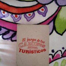 Barajas de cartas: EL JUEGO DE LOS CAMINOS TURÍSTICOS EDITORIAL ZARAGOZANO. Lote 289488508
