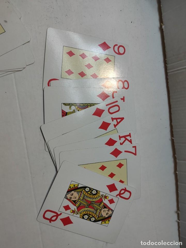 Barajas de cartas: Baraja publicidad Banesto en caja original de madera - Foto 4 - 289537058