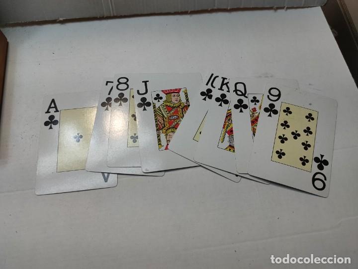Barajas de cartas: Baraja publicidad Banesto en caja original de madera - Foto 5 - 289537058