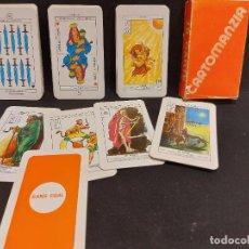 Barajas de cartas: TAROT SANS EGAL / 78 CARTE / CARTOMANZIA / AÑO 1980 / COMPLETO Y PERFECTO / CAJA ALGO USADA.. Lote 289734408